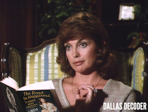 Dallas, Linda Gray, Road to Happiness is Always Under Construction, Sue Ellen Ewing
