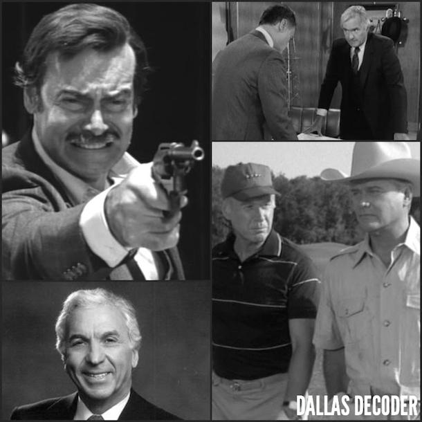 Carl Hardesty, Dallas, Edgar Randolph, Fritz Longley, George Coe, Lorimar, Martin E. Brooks, Merv Adelson