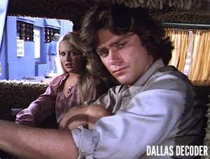 Charlene Tilton, Dallas, Greg Evigan, Lucy Ewing, Willie Gust