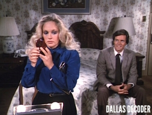 Bill Johnson, Charlene Tilton, Dallas, Lucy Ewing, Nicholas Hammond