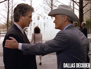 Bobby Ewing, Dallas, J.R. Ewing, Larry Hagman, Patrick Duffy