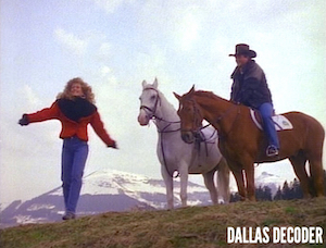 April Ewing, Bobby Ewing, Dallas, Patrick Duffy, Sheree J. Wilson