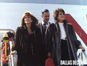 Dallas, Linda Gray, Pam Ewing, Sue Ellen Ewing, Victoria Principal