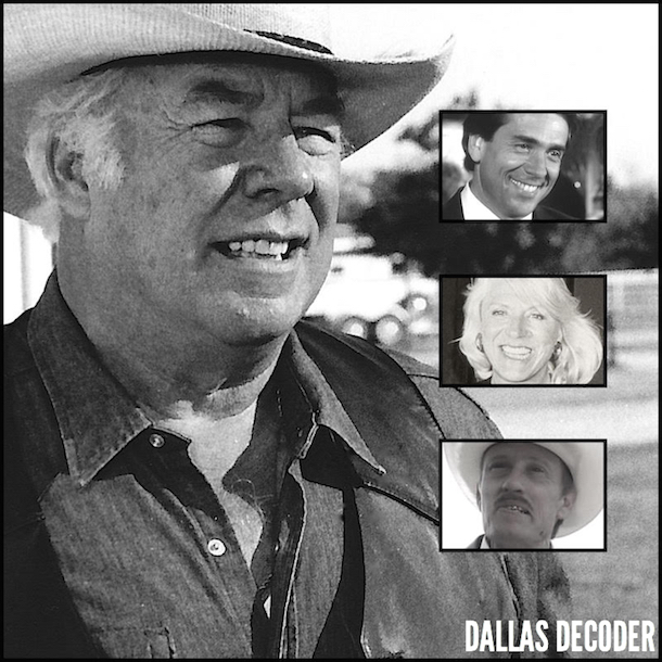 Barry Jenner, Dallas, George Kennedy, Jim Gough, Maj Hagman