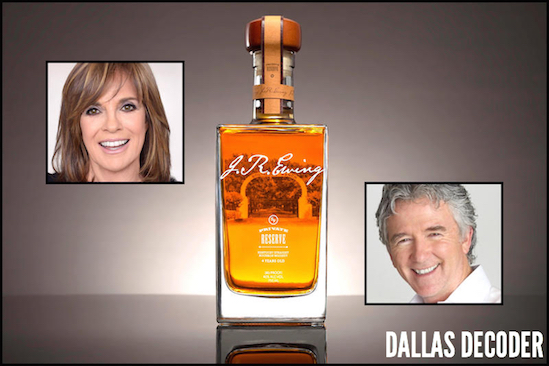 Dallas, J.R. Ewing Bourbon, Linda Gray, Patrick Duffy