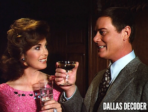 Dallas, J.R. Ewing, Linda Gray, Larry Hagman, Sue Ellen Ewing
