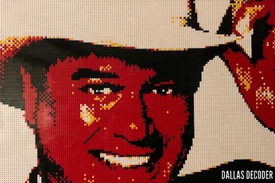 Dallas, JR Ewing, Larry Hagman, Lego